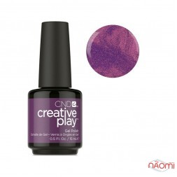 Гель-лак CND Creative Play 444 Raisin Eyebrows фіолетовий, 15 мл