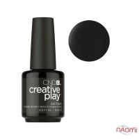 Гель-лак CND Creative Play 451 Black & Forth черный, 15 мл