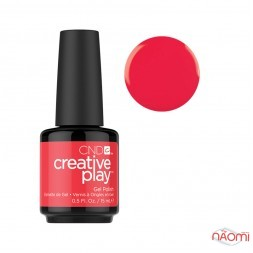 Гель-лак CND Creative Play 453 Hottie Tomattie красный, 15 мл