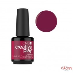 Гель-лак CND Creative Play 460 Berry Busy червона ягода, 15 мл
