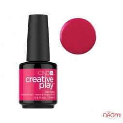 Гель-лак CND Creative Play 500 Fuchsia Fling красный, 15 мл