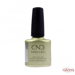 CND Shellac Crystal Alchemy Divine Diamond перламутровий бежевий металік, 7,3 мл