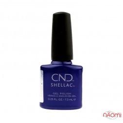 CND Shellac Crystal Alchemy Sassy Saphire синій сапфір, 7,3 мл