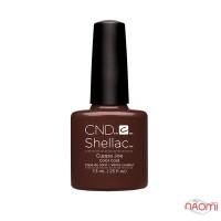 CND Shellac Cuppa Joe коричневый, с перламутром, 7,3 мл