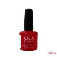 CND Shellac Devil Red святковий вогненний, 7,3 мл