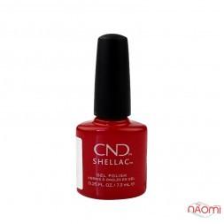 CND Shellac Devil Red праздничный огненный, 7,3 мл