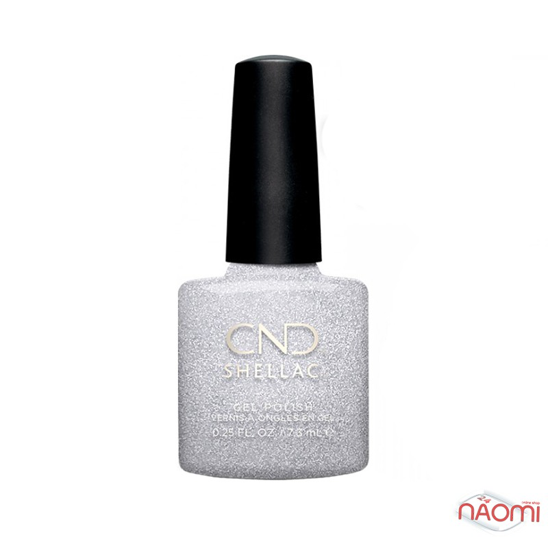 CND Shellac Night Moves 291 After Hours, серебро с блестками, 7,3 мл, фото 1, 339.00 грн.