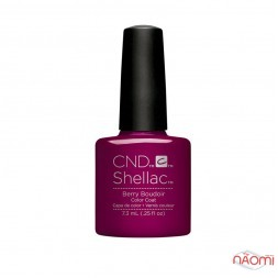 CND Shellac Nightspell Berry Boudoir темно-бордовый, 7,3 мл