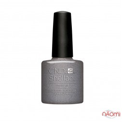CND Shellac Nightspell Mercurial темно-стальной с шимером 7,3 мл