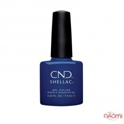 CND Shellac Wild Earth 282 Blue Moon синий, 7,3 мл