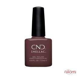 CND Shellac Wild Earth 287 Arrowhead коричневый, 7,3 мл