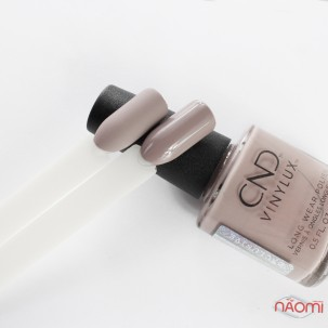 Лак CND Vinylux Nude 270 Unearthed серый, 15 мл