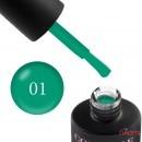 Гель-лак Couture Colour Neon Summer 01 бирюзово-зеленый неон, 9 мл, фото 1, 155.00 грн.