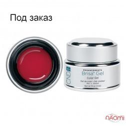 Кольоровий гель червоний непрозорий CND Brisa Red Opaque Color, 14 г