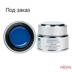 Кольоровий гель синій непрозорий CND Brisa Blue Opaque Color, 14 г