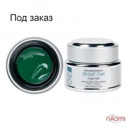 Кольоровий гель зелений непрозорий CND Brisa Green Opaque Color, 14 г