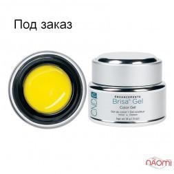 Кольоровий гель жовтий непрозорий CND Brisa Yellow Opaque Color, 14 г