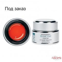 Кольоровий гель помаранчевий непрозорий CND Brisa Orange Opaque Color, 14 г