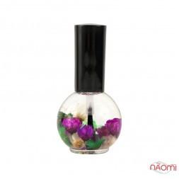 Олія для кутикули Naomi квіткова, Лаванда, 15 мл