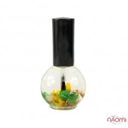 Олія для кутикули Naomi квіткова, Лимон, 15 мл