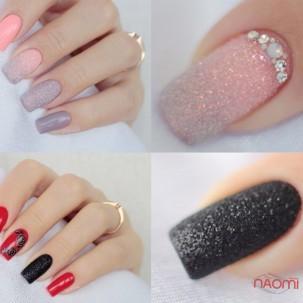 Декор для ногтей, блестки белые перламутровые, блестки голографические, в наборе 12 шт.