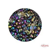 Декор для ногтей Starlet Professional морские камни, кристаллы