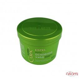 Маска для всіх типів волосся Estel Curex Classic основний догляд, зволоження, живлення, 500 мл