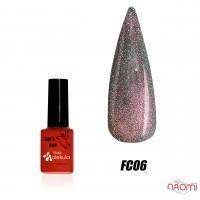 Гель-лак Nails Molekula Flash Cats Eye FC06 светоотражающий, 6 мл