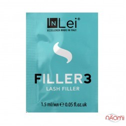 Филлер для ресниц InLei Filler 3 Lash Filler, саше, 1,5 мл