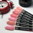 База камуфлирующая для гель-лака Elise Braun Cover Flex Base 01 теплая розовая, 15 мл, фото 3, 196.00 грн.