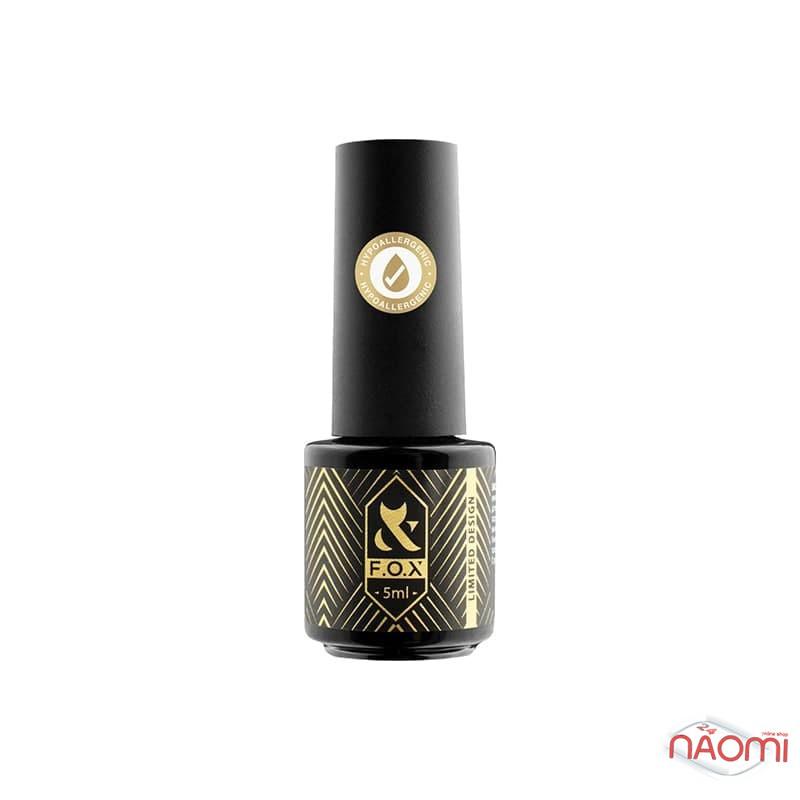 Гель-лак F.O.X Flash 012 коричневое золото, светоотражающий, 5 мл, фото 2, 105.00 грн.