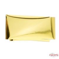 Фольга для ногтей переводная 202, для литья и кракелюра, золотая глянцевая L= 0,5 м, ширина 4 см