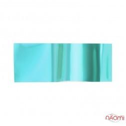 Фольга для ногтей переводная, для литья, голубая, L= 1 м ширина 4 см
