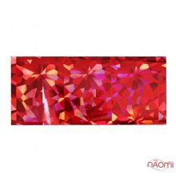Фольга для ногтей переводная, для литья, красная, битое стекло L= 1 м ширина  4 см