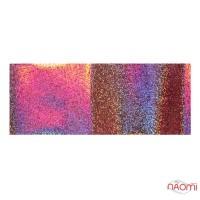 Фольга для ногтей переводная, для литья, розовая, песок L= 1 м ширина  4 см