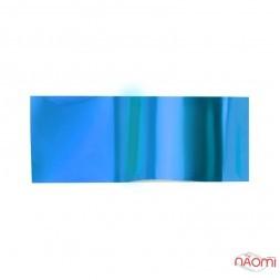 Фольга для ногтей переводная, для литья, синяя, L= 1 м ширина 4 см