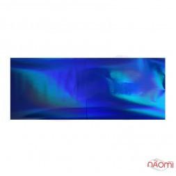 Фольга для ногтей переводная, для литья, темно-синяя, L= 1 м ширина 4 см