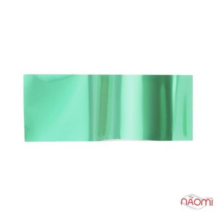 Фольга для ногтей переводная, для литья, светло-зеленая  L= 1 м ширина 4 см, фото 1, 6.00 грн.