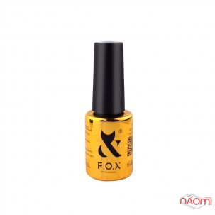 Гель-лак F.O.X Spectrum Gel Vinyl 072 Summit яркий оранжево-коралловый, 7 мл