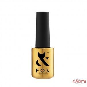 Топ для гель-лака без липкого слоя F.O.X Top Flash Opal светоотражающий, 6 мл