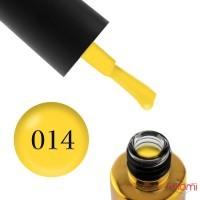 Гель-лак F.O.X Pigment 014 желтый, 6 мл