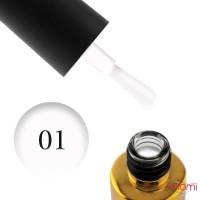 Гель-лак F.O.X Pigment 001 белый, 6 мл