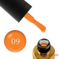 Гель-лак F.O.X Pigment 009 морквяний, 6 мл