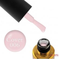 База камуфлююча каучукова для гель-лаку F.O.X Cover Rubber Base № 06, 12 мл
