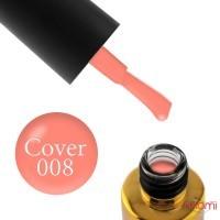 База камуфлирующая каучуковая для гель-лака F.O.X Cover Rubber Base № 08, 12 мл