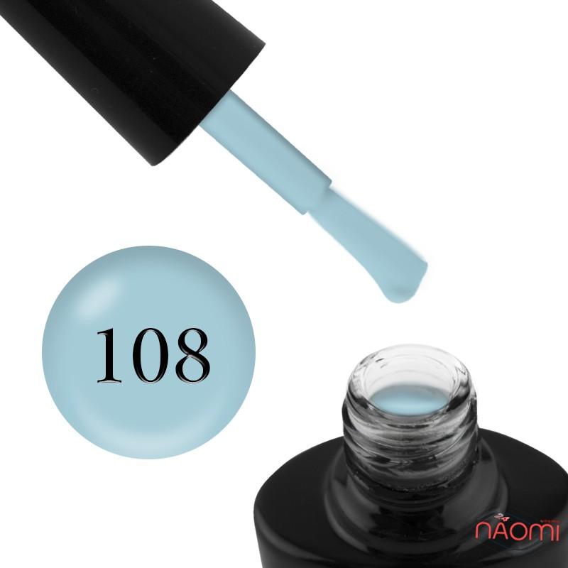 Гель-лак G.La color 108 мягкий голубой, 10 мл, фото 1, 80.00 грн.