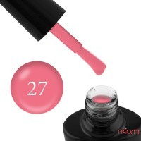 Гель-лак G.La color 027 насыщенный розовый персик, 10 мл