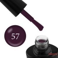 Гель-лак G.La color 057 темно - фиолетовый, 10 мл