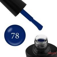 Гель-лак G.La color 078 синий, 10 мл