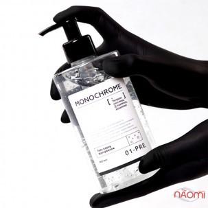 Гель перед шугарингом Gloria MONOCHROME для очищения, дезинфекции и обезжиривания кожи, 460 мл